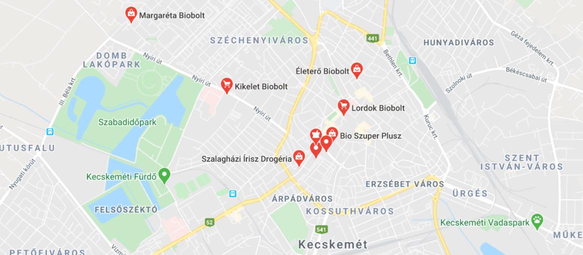 Biobolt Kecskemeten A Lista Kecskemet Kartya Info